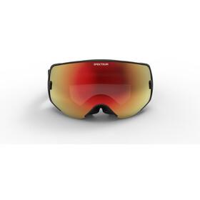 Spektrum Skutan Goggles black/brown revo mirror red